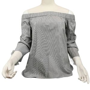 Vera Moda Off Shoulder Top with Tie Sleeve Sm